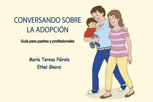 Caratula del libro Conversando sobre la Adopcion